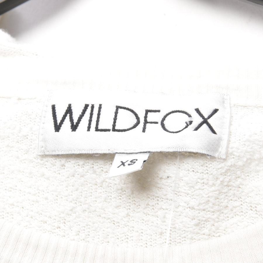 Sweatshirt von Wildfox in Cremeweiß Gr. XS