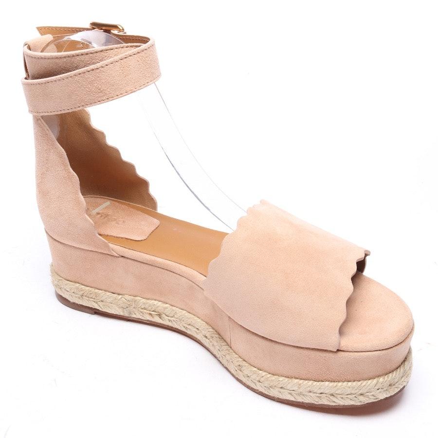 Sandaletten von Chloé in Beige Gr. EUR 38 Espadrilles Neu