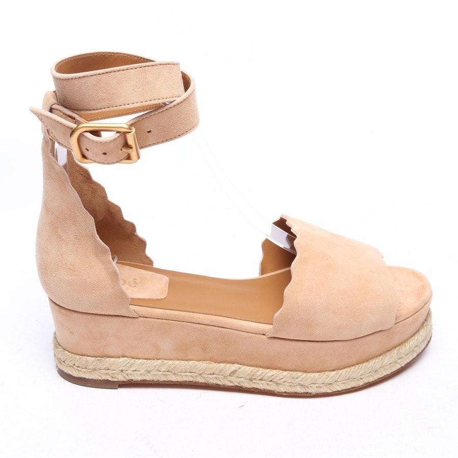 Sandaletten von Chloé in Beige Gr. EUR 38 Neu