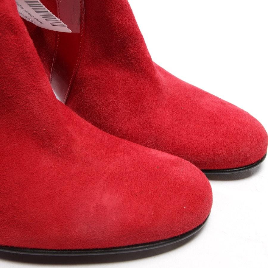 Stiefel von Aigner in Rot Gr. D 38 - NEU