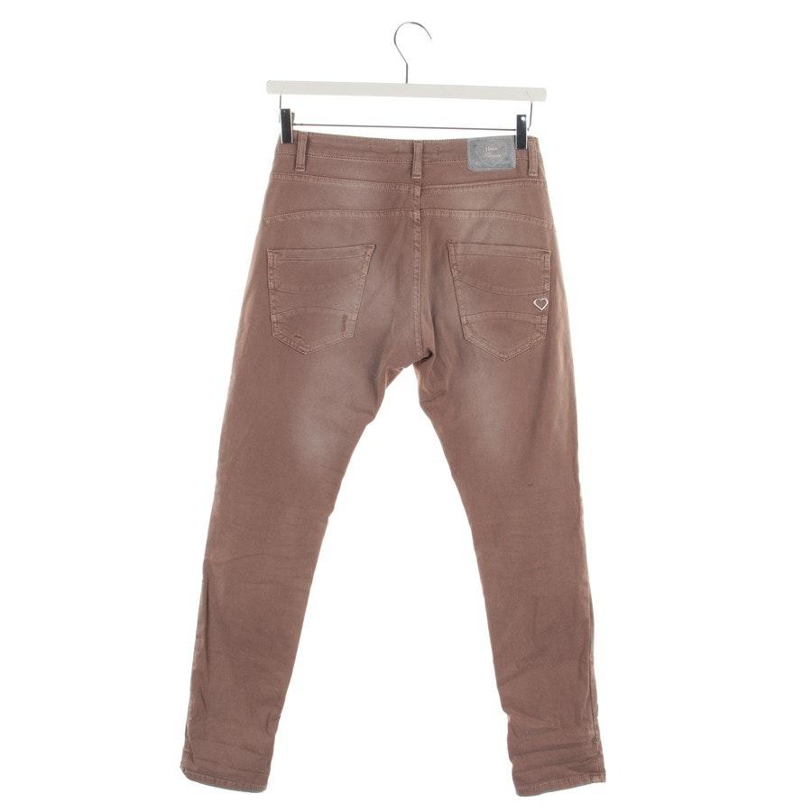Jeans von Please in Schokobraun Gr. 38