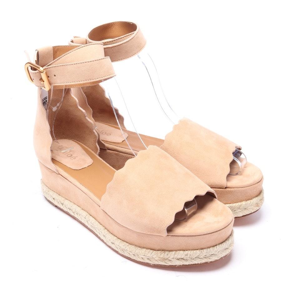 Sandaletten von Chloé in Camel Gr. EUR 39 Neu