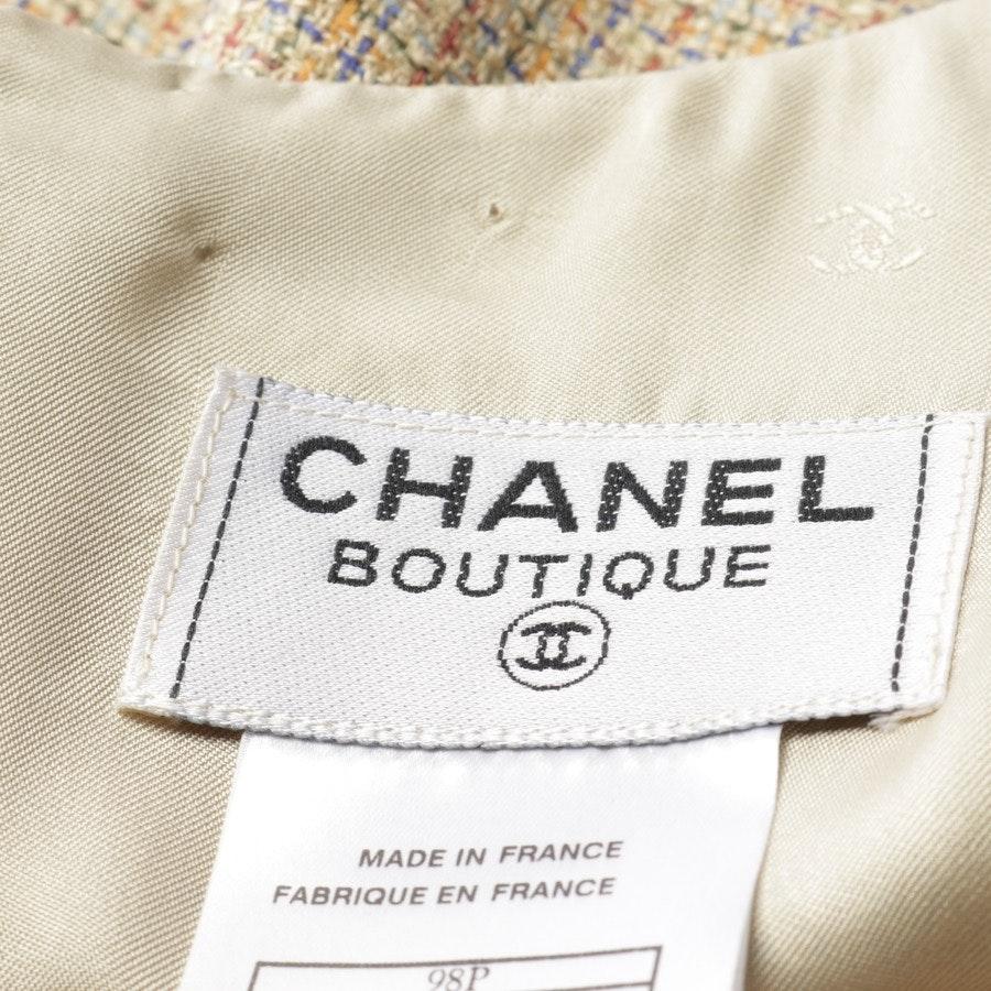Midikleid von Chanel in Beige und Mehrfarbig Gr. 36 FR 38