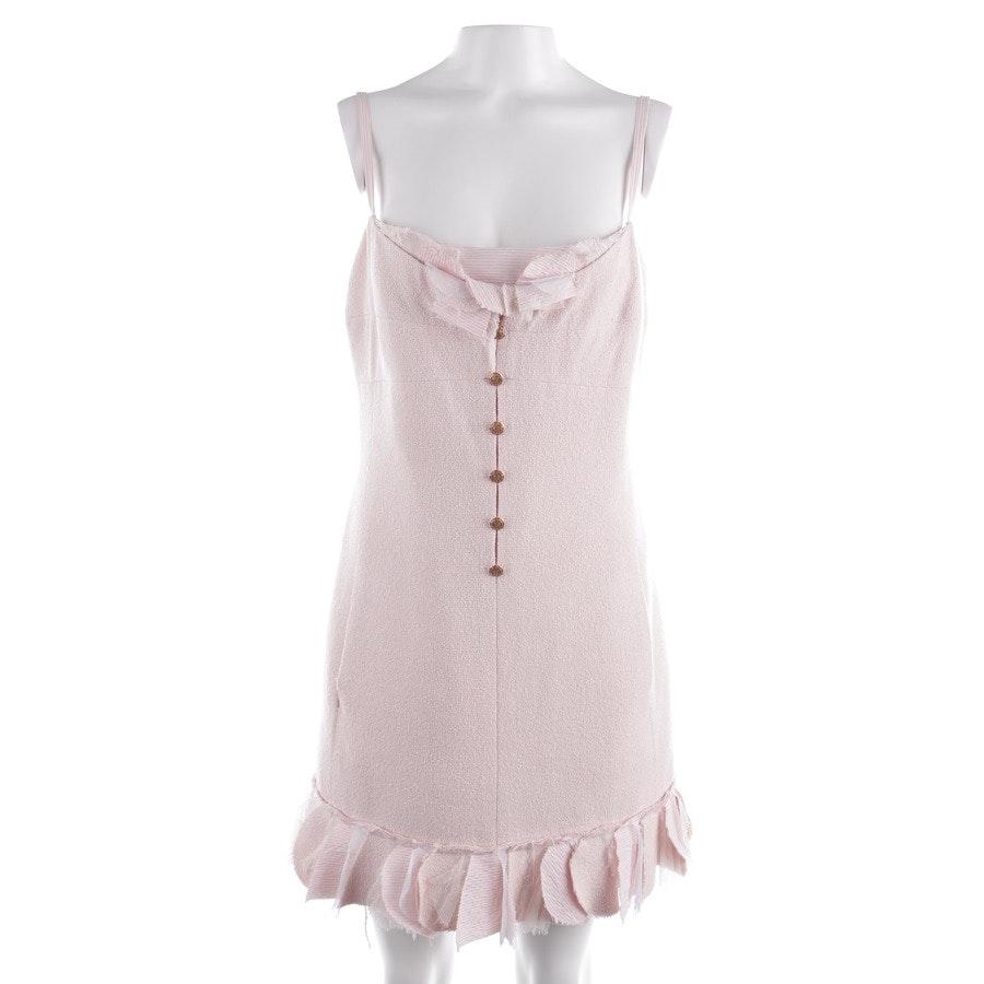Seidenkleid von Chanel in Pastellrosa Gr. 36 FR 38