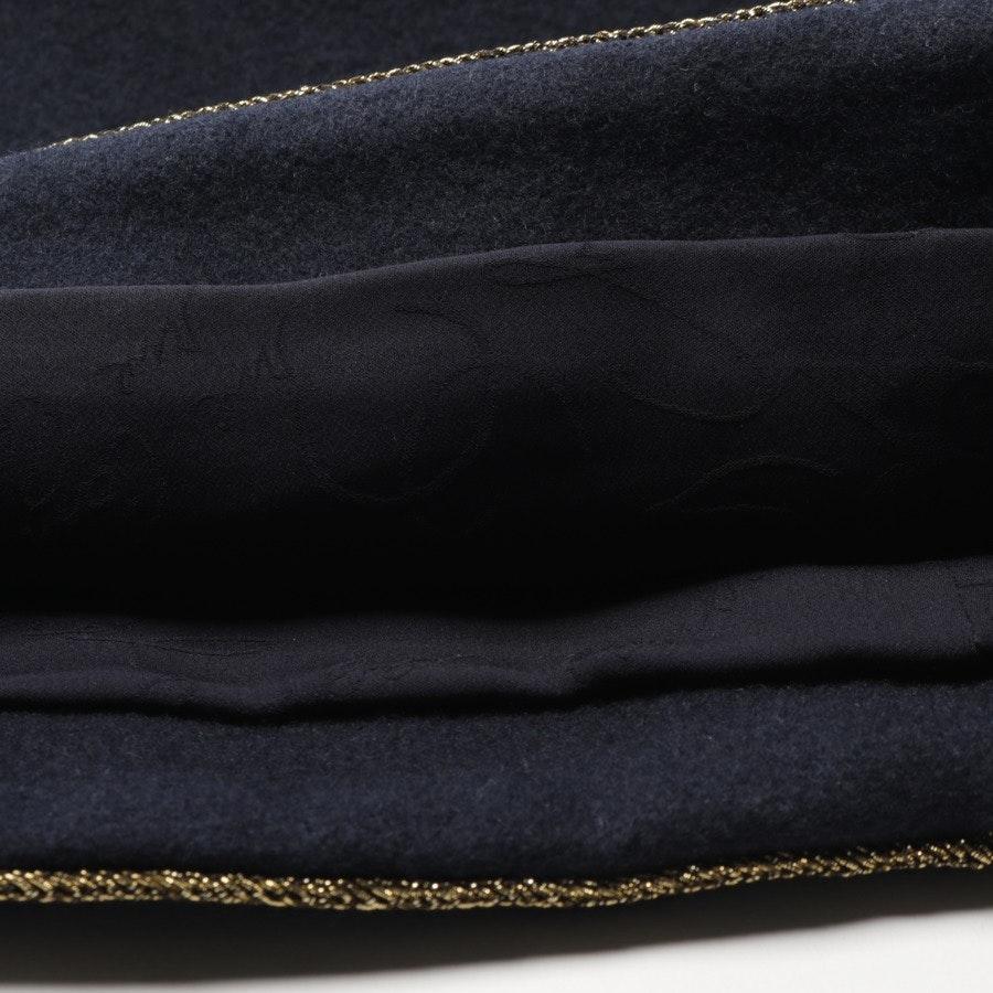 Wollkleid von Chanel in Dunkelblau Gr. 38 FR 40