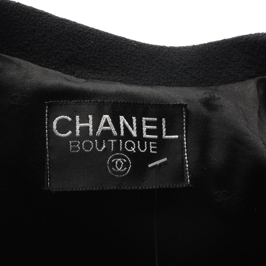 Übergangsjacke von Chanel in Schwarz Gr. M