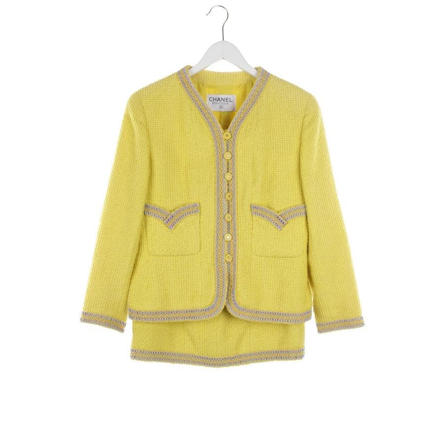 Kostüm von Chanel in Gelb und Mehrfarbig Gr. 36 FR 38