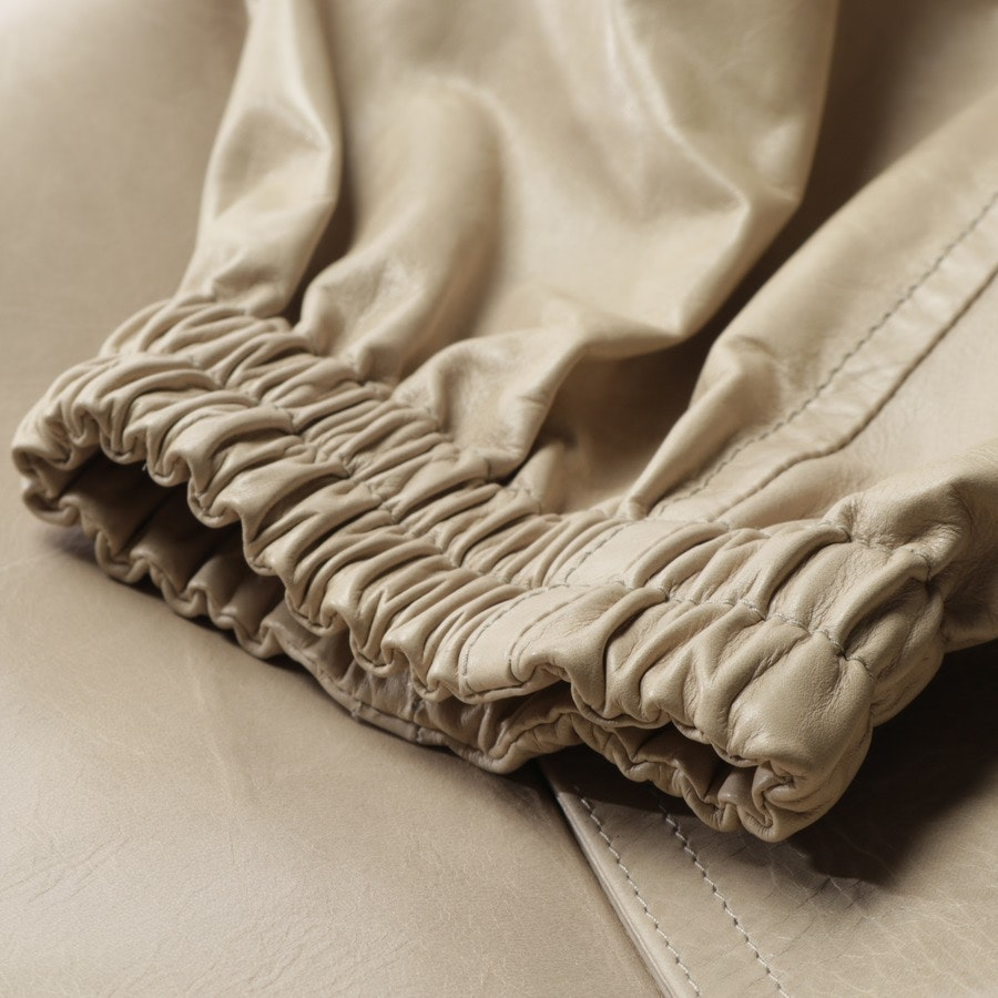 Ledermantel von Louis Vuitton in Puder Gr. 46 IT 52 Neu