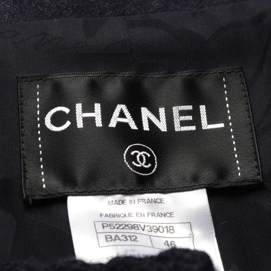 Übergangsmantel von Chanel in Dunkelblau Gr. 44 FR 46