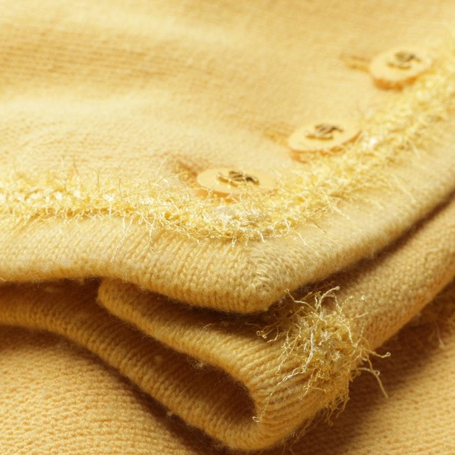 between-seasons jacket / coat from Chanel in Senfgelb size 42