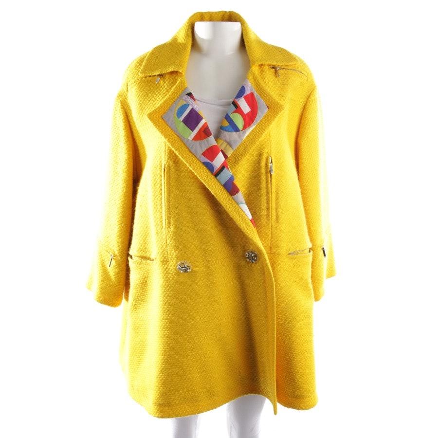 Wollmantel von Chanel in Gelb Gr. 34 FR 36