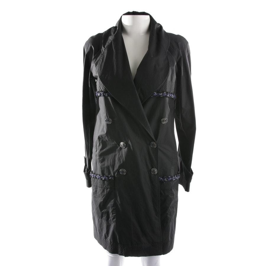 between-seasons jacket / coat from Chanel in Schwarz size 34 FR 36