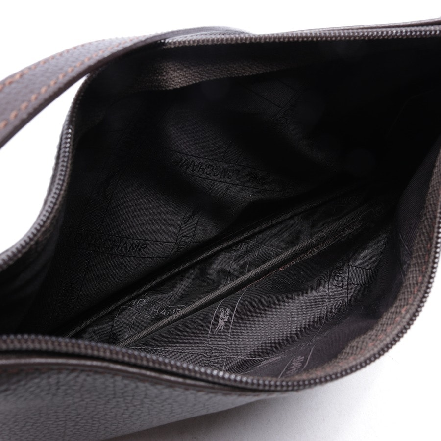 evening bags from Longchamp in dark brown