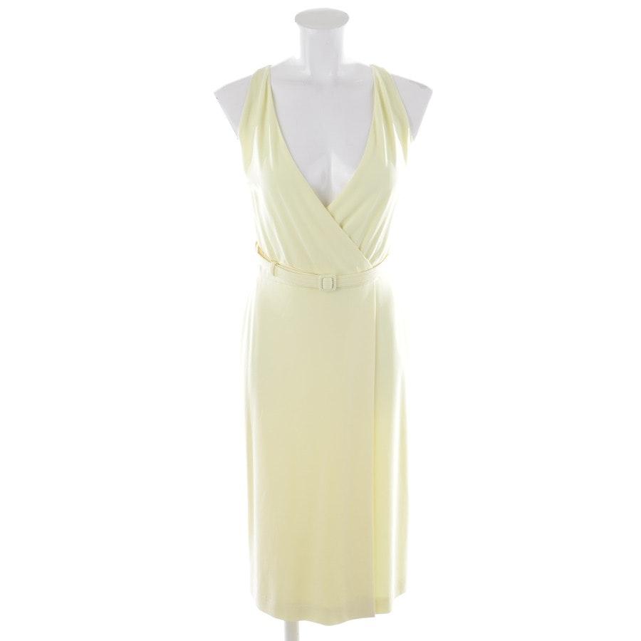 Kleid von Gucci in Pastellgelb Gr. M