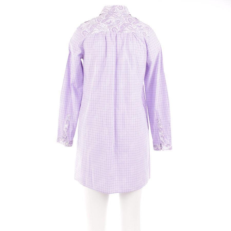 Kleid von Etro in Flieder und Weiß Gr. DE 32 IT 38