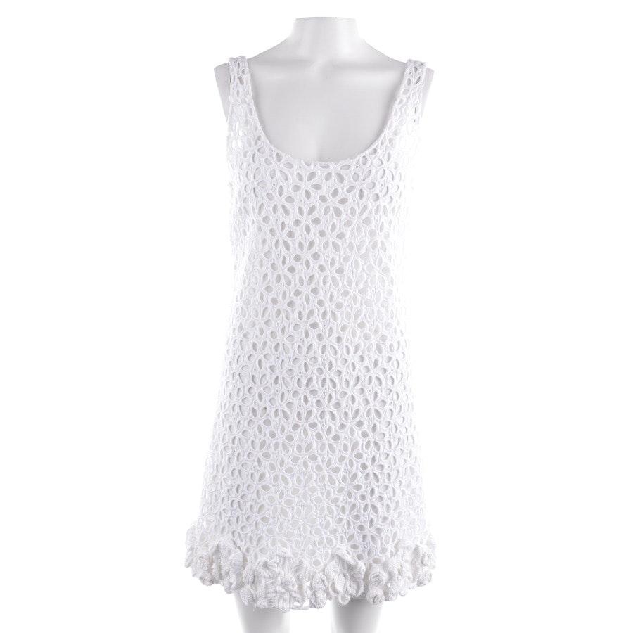 Seidenkleid von Prada in Weiß Gr. 38 IT 44