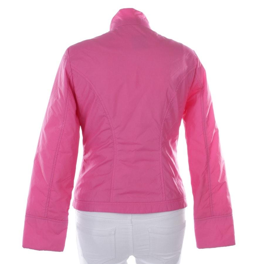 Übergangsjacke von Oui in Pink meliert Gr. 38