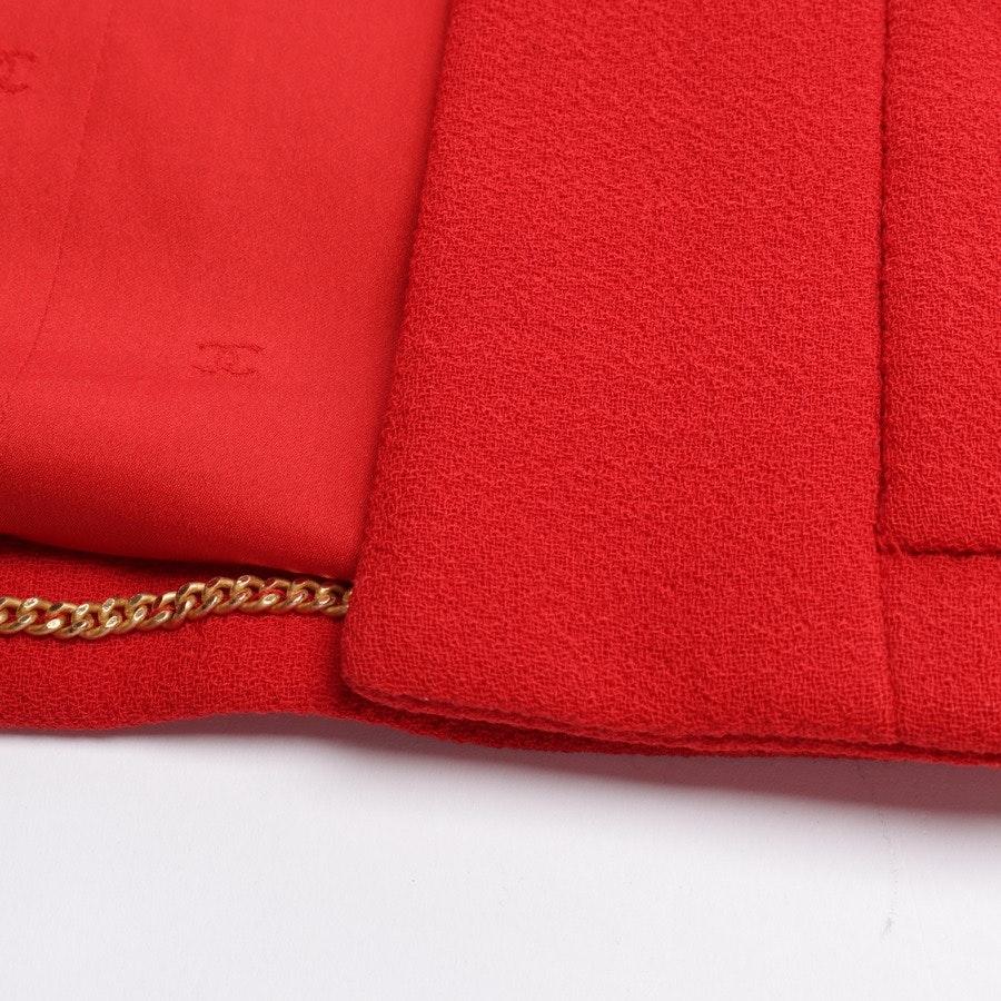 Wollblazer von Chanel in Rot Gr. 38 FR 40