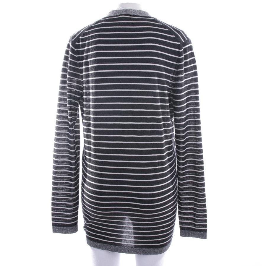 Strickjacke von Chanel in Schwarz und Weiß Gr. 40 FR 42