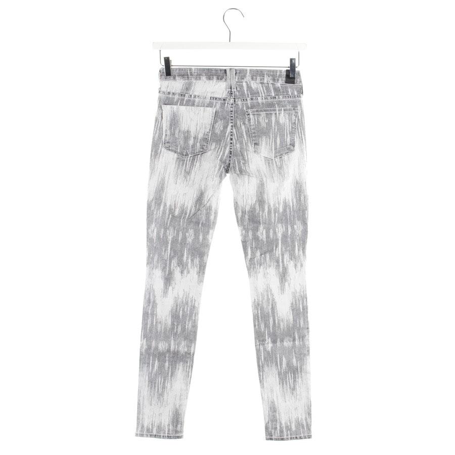 Jeans von Vince in Grau und Weiß Gr. W25