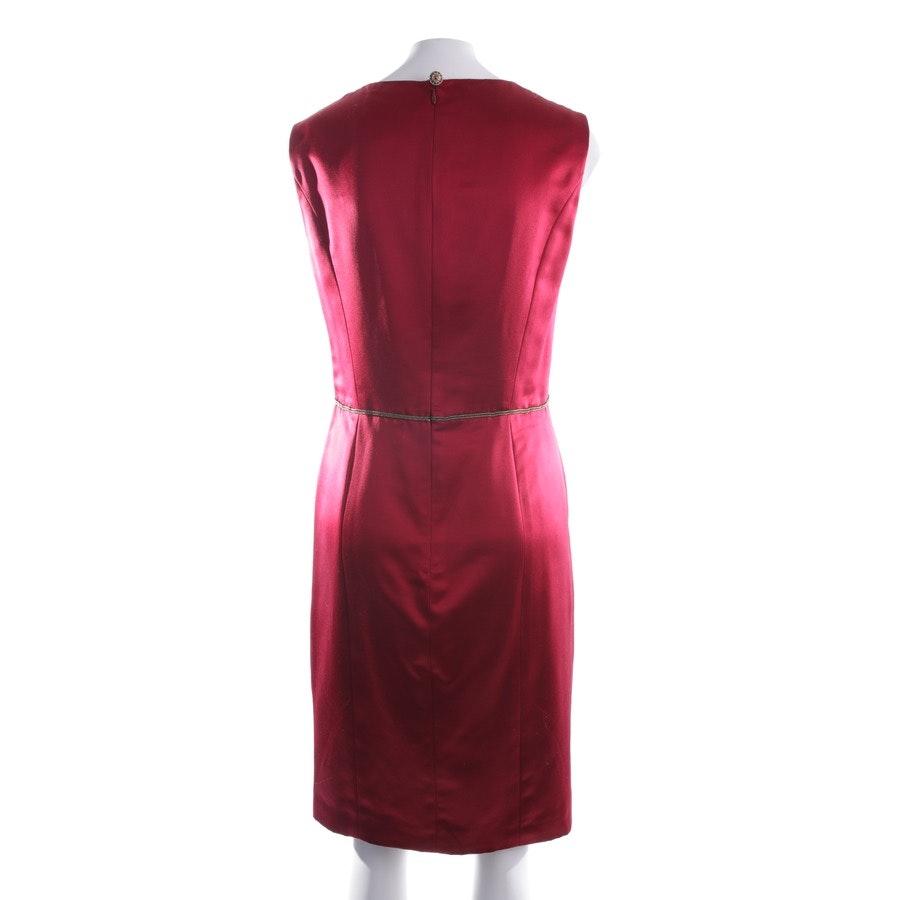 Seidenkleid von Chanel in Dunkelrot Gr. 40 FR 42