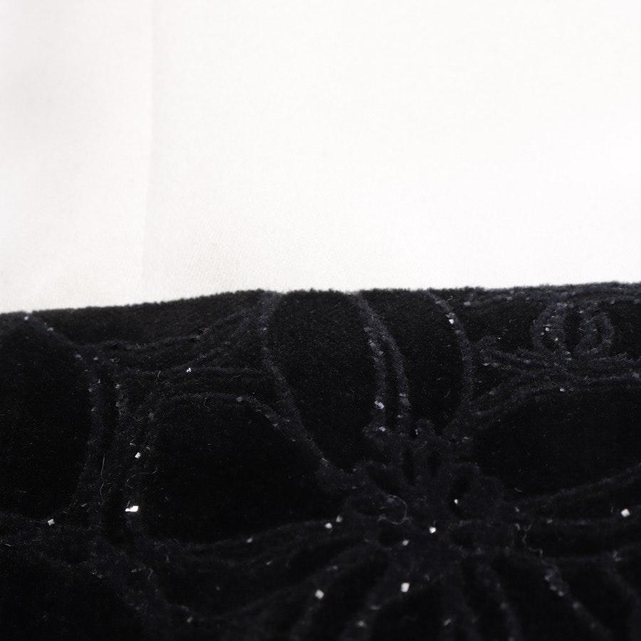 Kleid von Chanel in Schwarz und Weiß Gr. 36 FR 38