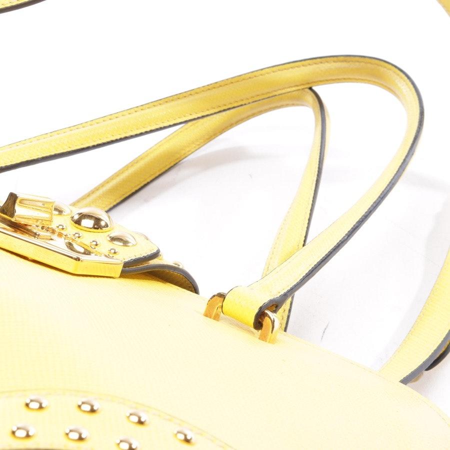 Handtasche von Prada in Gelb