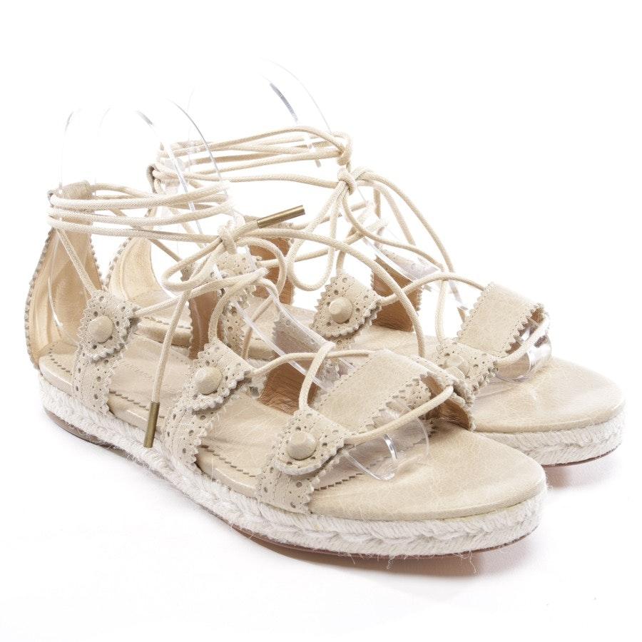 Sandalen von Balenciaga in Beige Gr. D 40 - NEU