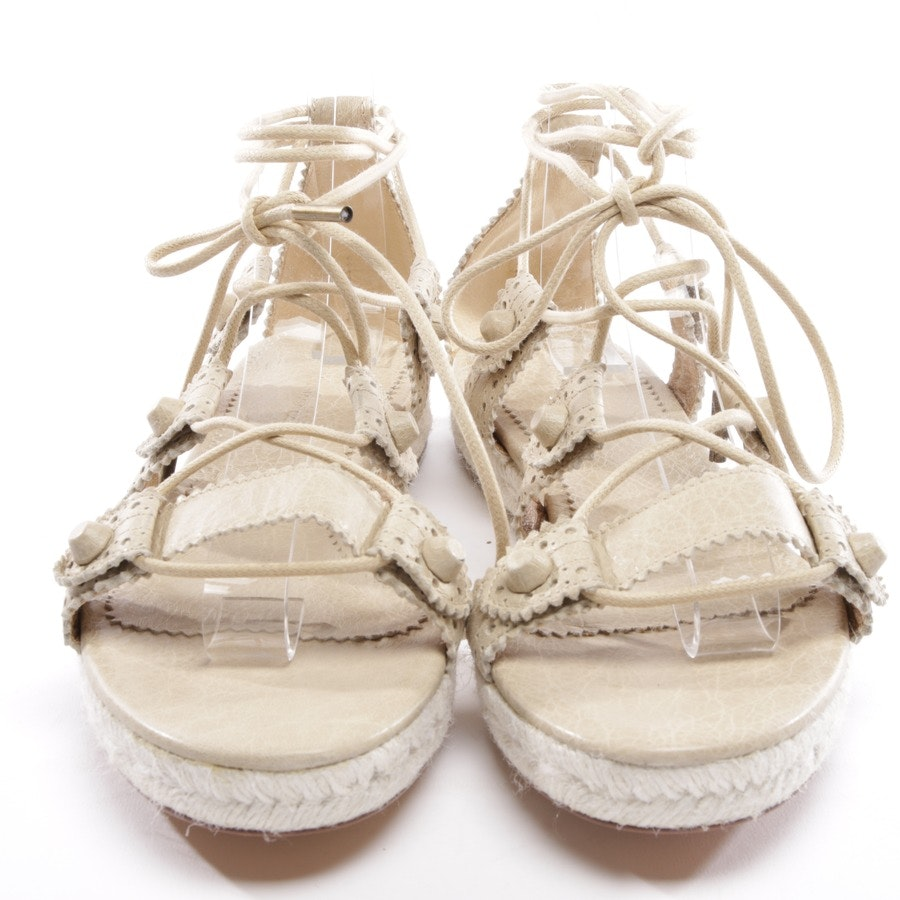 flat sandals from Balenciaga in beige size D 40 - new