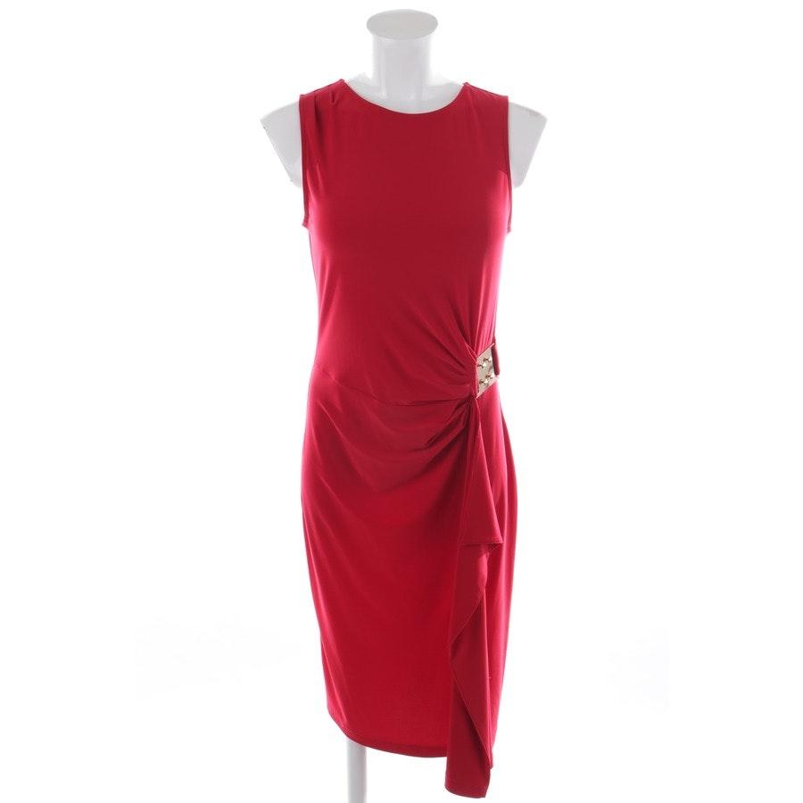 Kleid von Joseph Ribkoff in Rubinrot und Gold Gr. 36