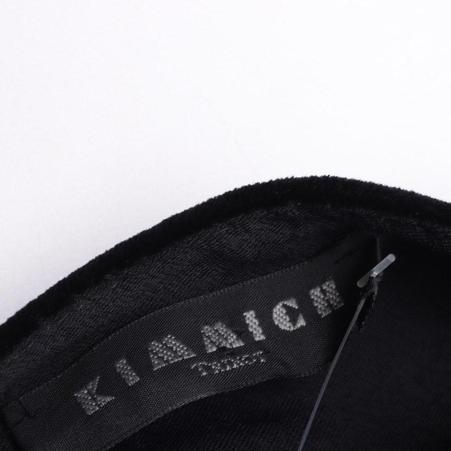 Samtshirt von Kimmich in Schwarz Gr. 2XL