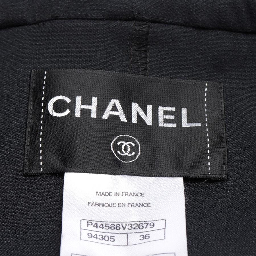 Übergangsmantel von Chanel in Schwarz Gr. 34 FR 36