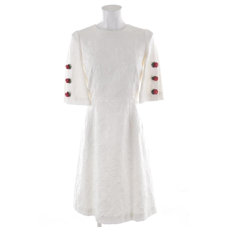 Kleid von Dolce & Gabbana in Weiß und Rot Gr. 32 IT 38 Neu