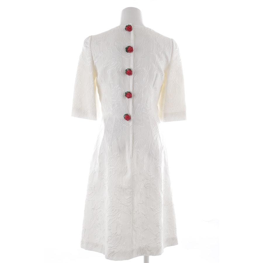 Kleid von Dolce & Gabbana in Weiß und Rot Gr. 38 IT 44 Neu