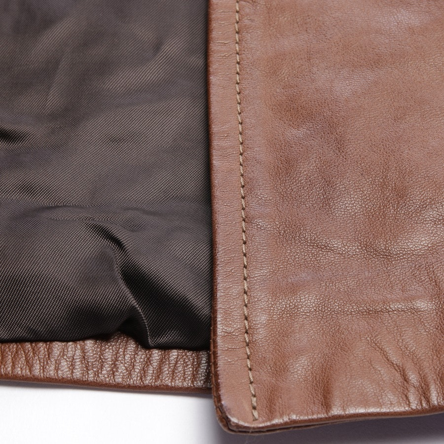leather jacket from Barbara Bui in brown size 38 FR 40