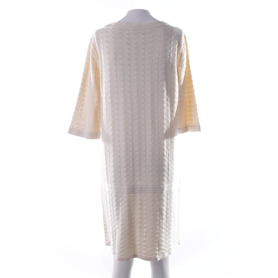 Strickkleid von Chanel in Elfenbein Gr. 38 FR 40