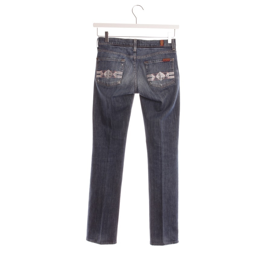 jeans from 7 for all mankind in dark blue size W24 - straight leg