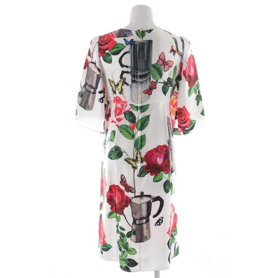 Seidenkleid von Dolce & Gabbana in Mehrfarbig Gr. 36 IT 42 Neu