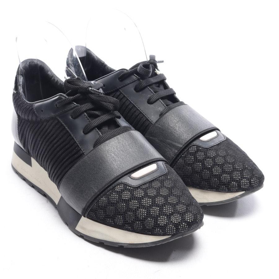 Sneaker von Balenciaga in Schwarz und Elfenbein Gr. EUR 38