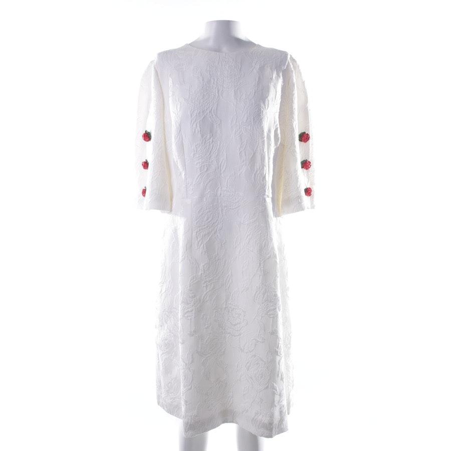Kleid von Dolce & Gabbana in Weiß und Mehrfarbig Gr. 44 IT 50