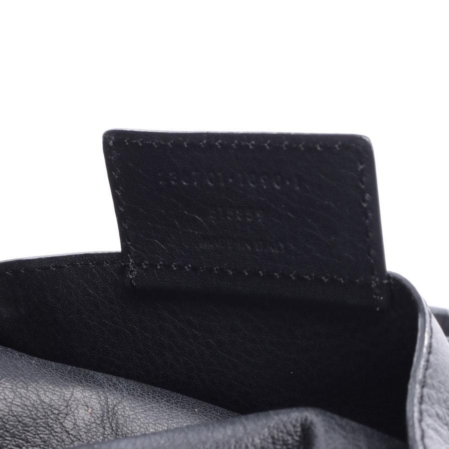 Shopper von Balenciaga in Schwarz und Dunkles Khaki Papier A4 Zip