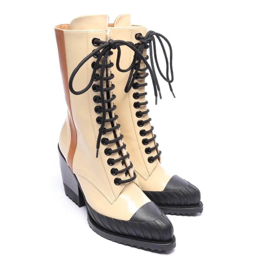 Stiefel von Chloé in Weiss und Schwarz Gr. EUR 37,5 Neu