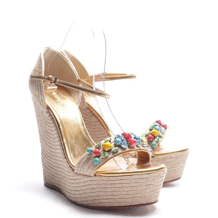 Sandaletten von Gucci in Hellbraun Gr. EUR 40 Neu