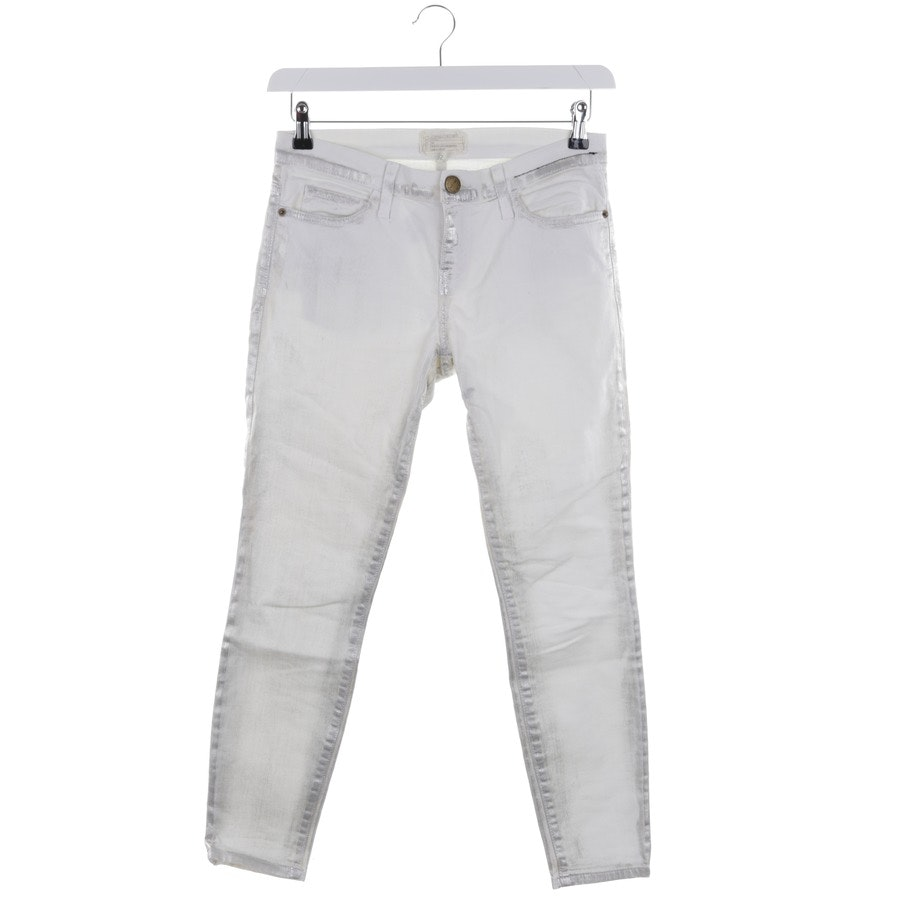 jeans from Current/Elliott in white and silver size W26