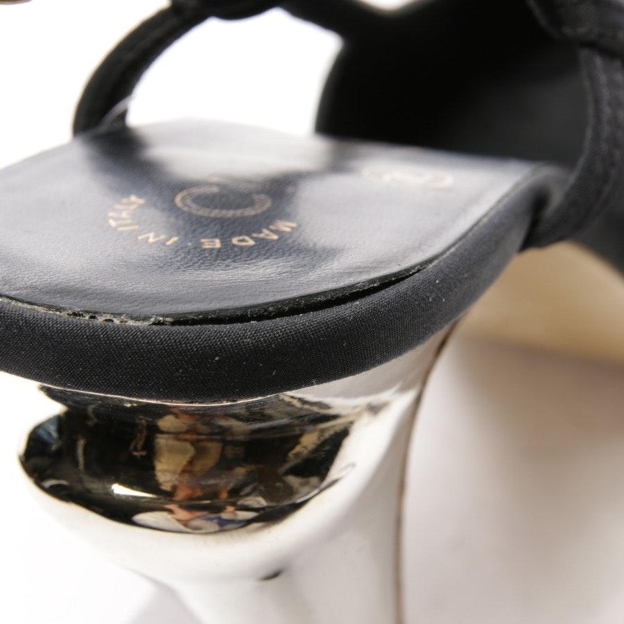 Slingbacks von Chanel in Schwarz Gr. D 38,5