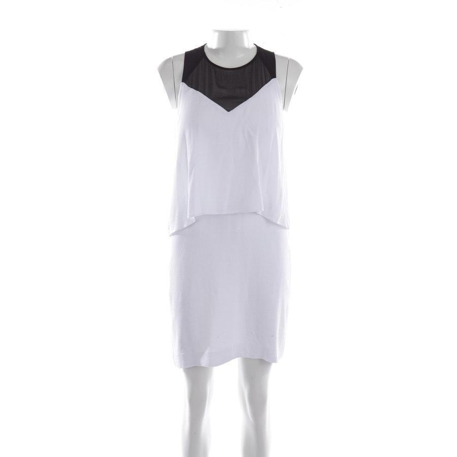 Kleid von Sandro in Weiß und Schwarz Gr. S