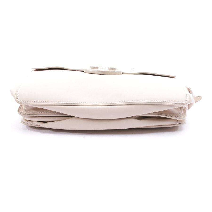 Schultertasche von Prada in Beige