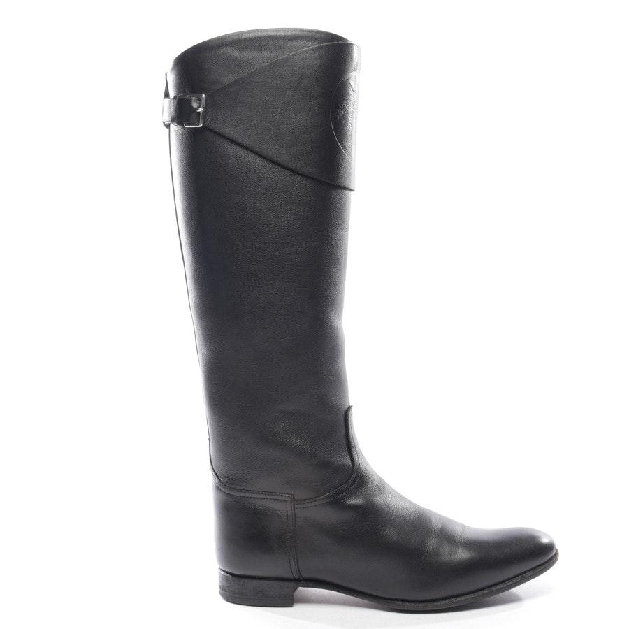 Stiefel von Hermès in Schwarz Gr. D 36,5