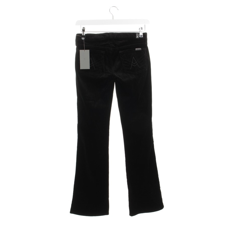 trousers from 7 for all mankind in black size W26 - new