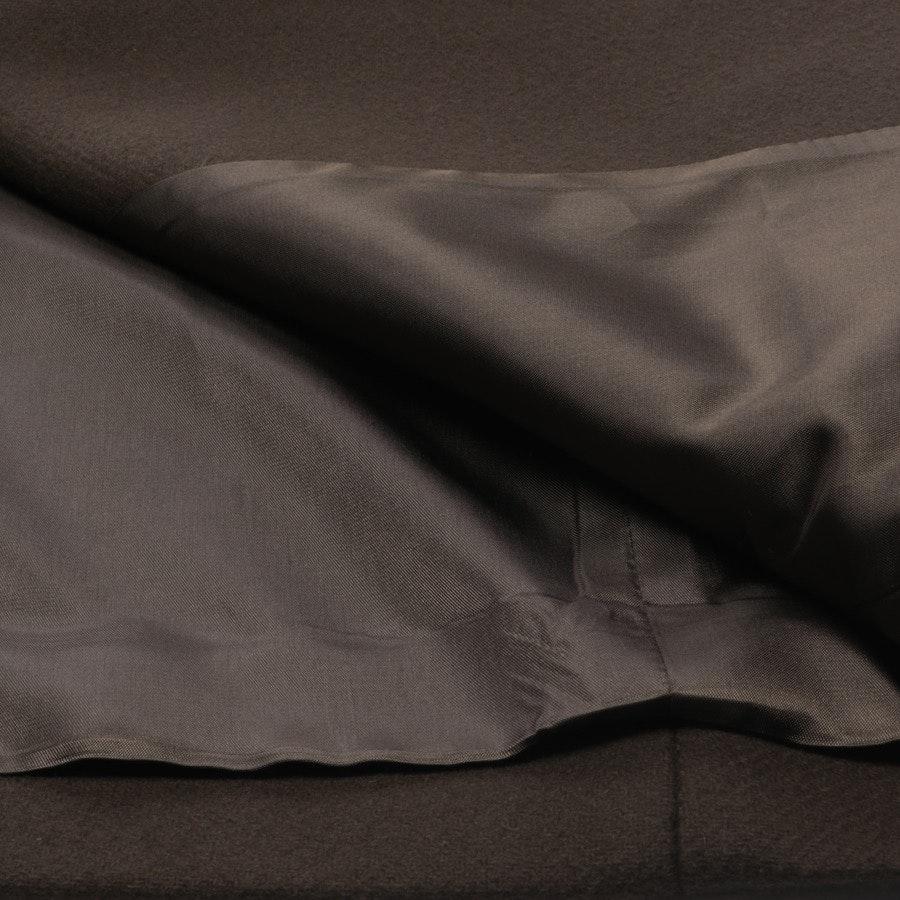 Mantel von ARMA in Dunkelbraun Gr. 40 - Wollanteil